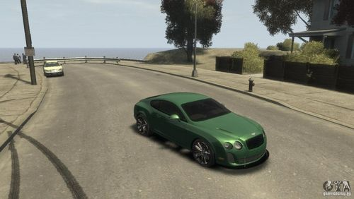 GTA 4 'Bentley Continental SS'
