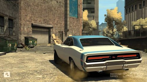 GTA 4 'Dodge Charger R/T '1969'