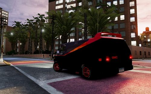 GTA 4 'GMC The A-Team Van 1983'