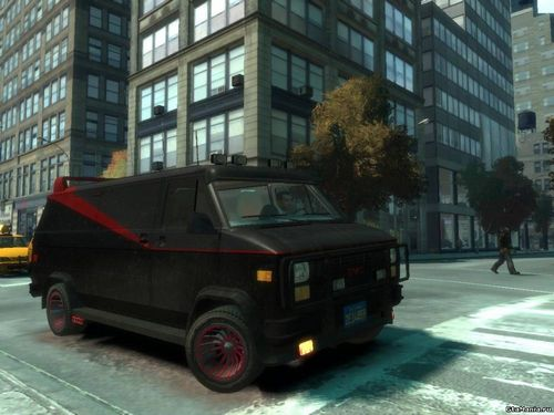 GTA 4 'GMC A-Team Van v1.0'