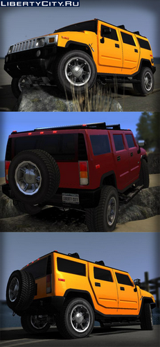 GTA 4 'Hummer H3 by NameLess n N.I.K.E. BLC'