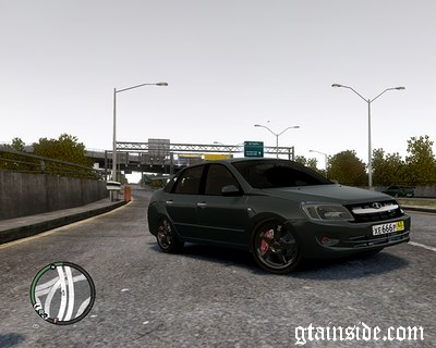 GTA 4 'Lada 2109 Black Nine 'Centre Side' [Final]'