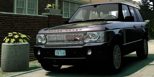 GTA 4 'Land Rover Supercharged 2012 v1.5'