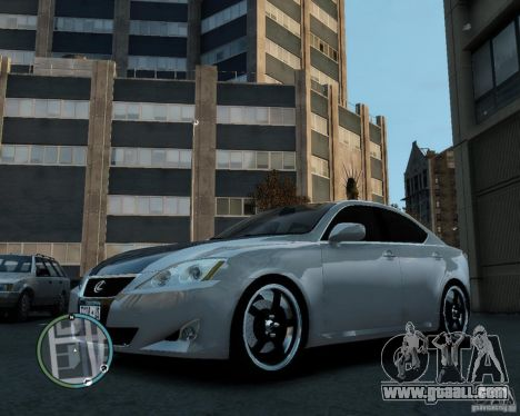 GTA 4 'Lexus IS350 2006 v.1.0'