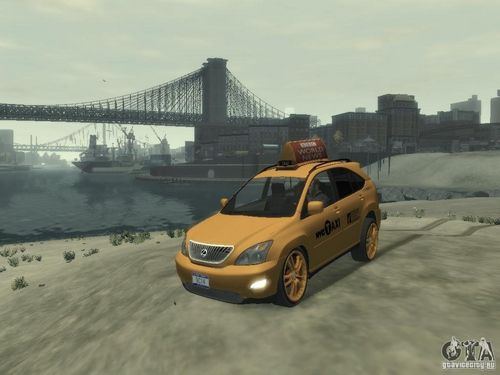 GTA 4 'Lexus RX400 New York Taxi'