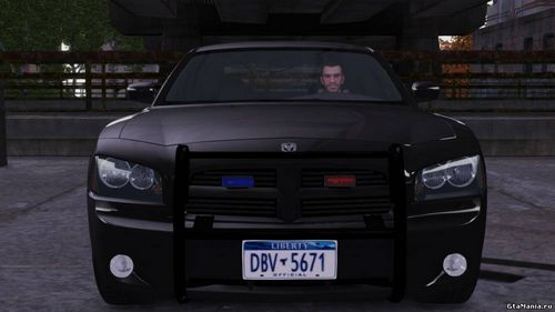 GTA 4 'Dodge Charger R/T Hemi FBI 2007 v1.0'