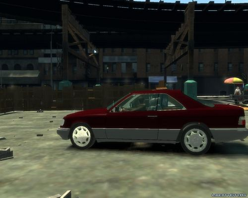 GTA 4 'Mercedes-Benz E500 Coupe [Beta]'