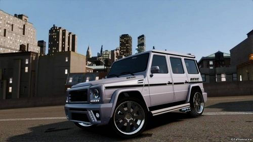 GTA 4 'Mercedes Benz G500 v1.0'