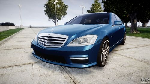 GTA 4 'Mercedes-Benz S65 W221 AMG'