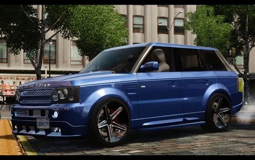 GTA 4 'Range Rover LRX 2010 [Beta]'