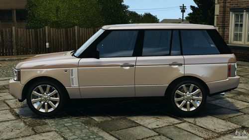 GTA 4 'Range Rover Supercharged 2008'